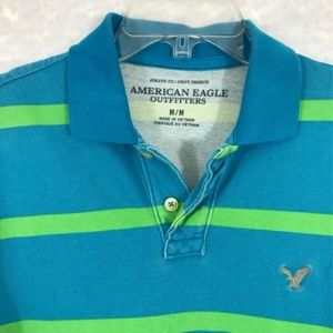 American Eagle Outfitters Golf Polo Shirt Mens M